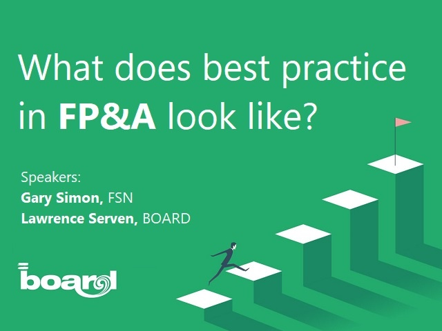 What does best practice in FP&A lool like?