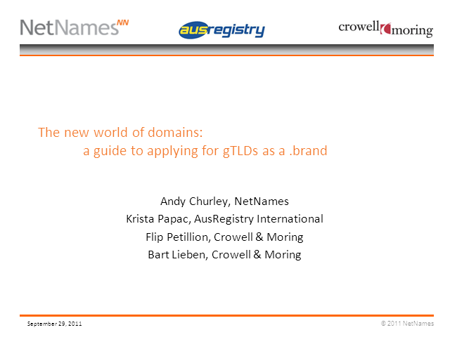 The new world of domains: A guide to applying for gTLDs as a .brand