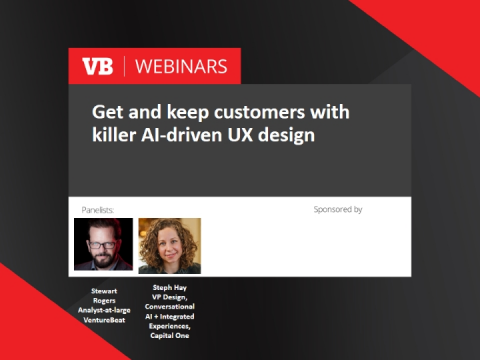 Get and keep customers with killer AI-driven UX design