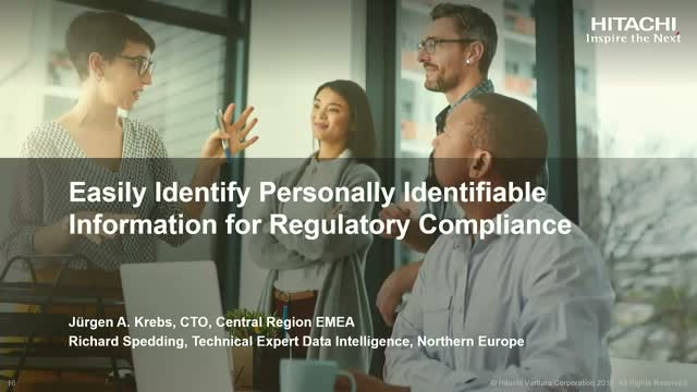 Easily Identify Personally Identifiable Information for Regulatory Compliance