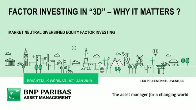 Factor Investing in 3D: Why it matters for market neutral strategies
