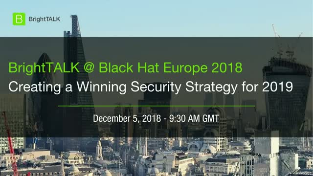Creating a Winning Security Strategy for 2019