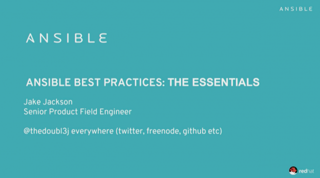 Ansible Essentials