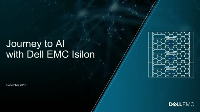 Journey to AI with Dell EMC Isilon