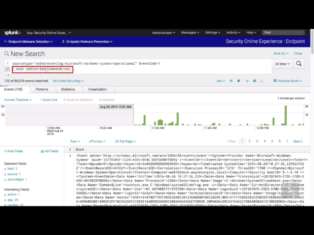 Splunk for Security Investigation: Ransomware