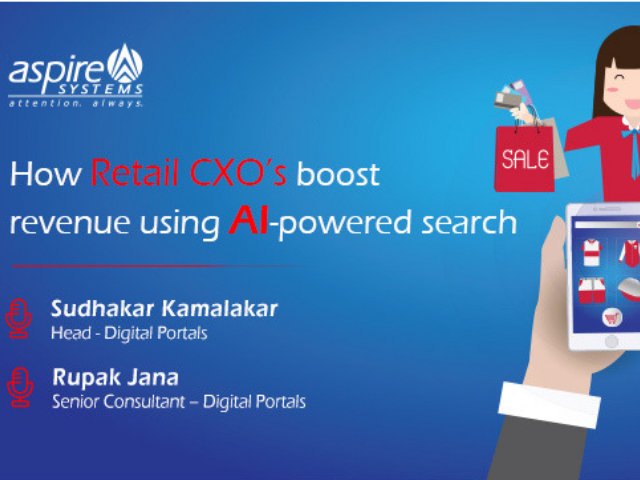 How Retail CXO's boost revenue using AI-powered search
