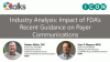 Imapct of FDA's Recent Guidance on Payer Communications