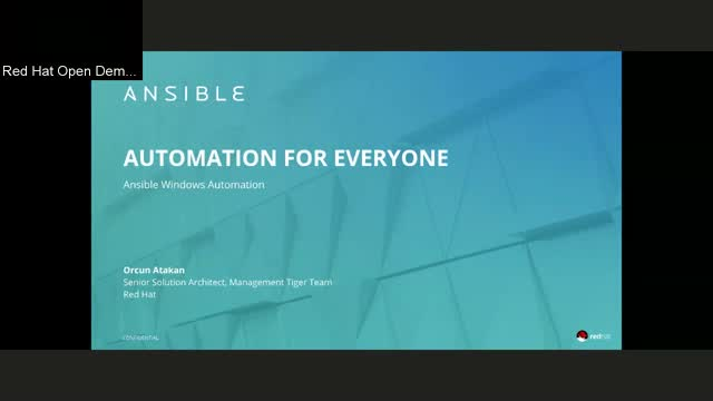 Windows Automation with Ansible November 19
