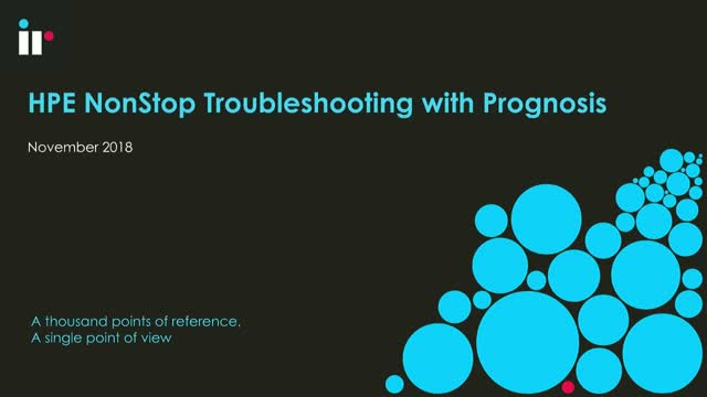 HPE NonStop Troubleshooting
