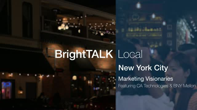 BrightTALK Local: NYC