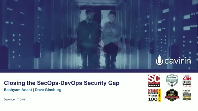Closing the DevOps/SecOps Security Gap