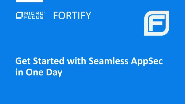Get Started with Seamless AppSec in One Day