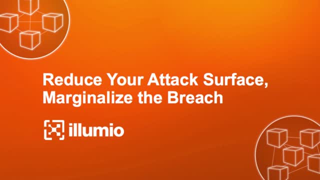Reduce your Attack Surface Marginalize the Breach (NA)