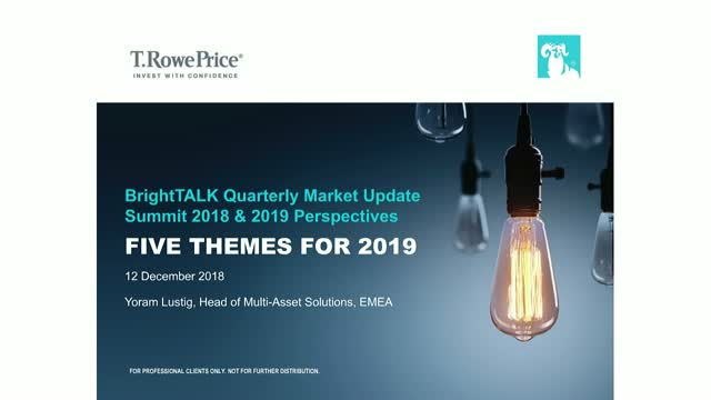 Five Themes That Will Shape the Market for Investors in 2019