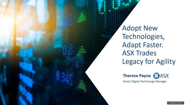 ASX adopts new technology and adapts faster