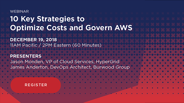 10 Key Strategies to Optimize Costs and Govern AWS