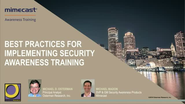 Best Practices for Implementing an Effective Security Awareness Training Program