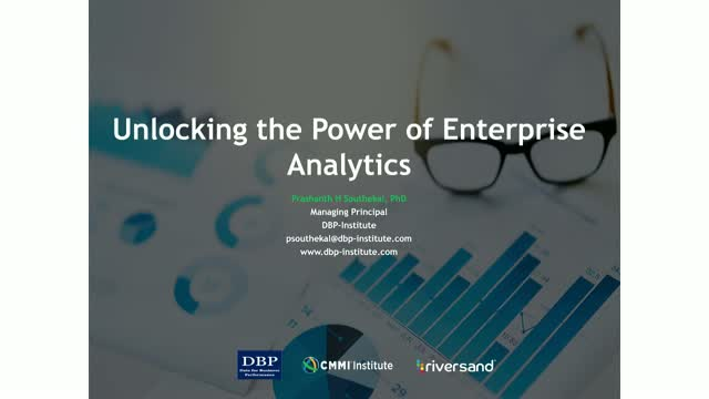 Strategies to Unlock the Value of Enterprise Analytics