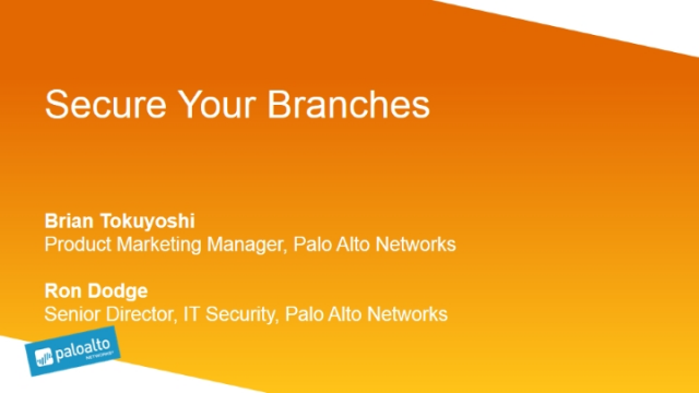 Secure Your Branches