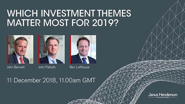 Which investment themes matter most for 2019?