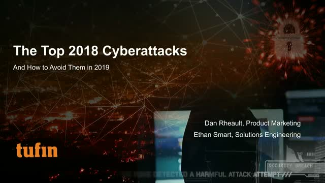 Top 2018 Cyberattacks and How to Avoid Them in 2019