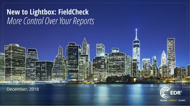New to Lightbox: More control over your reports.