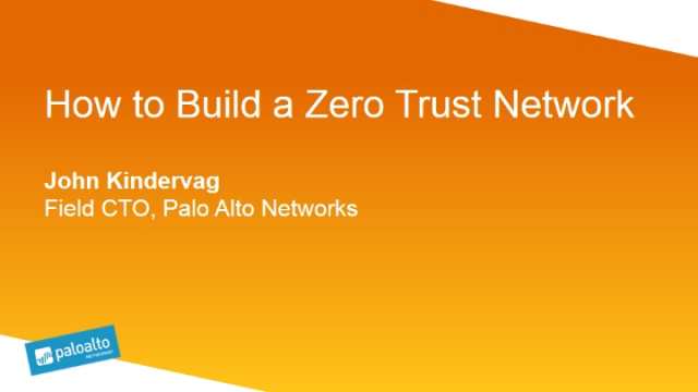 How to Build a Zero Trust Network