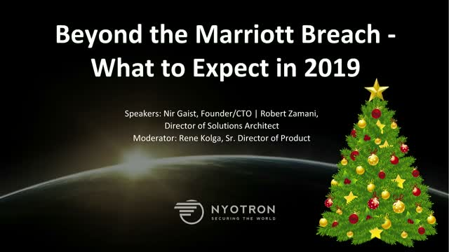 Beyond the Marriott Breach - What to Expect in 2019