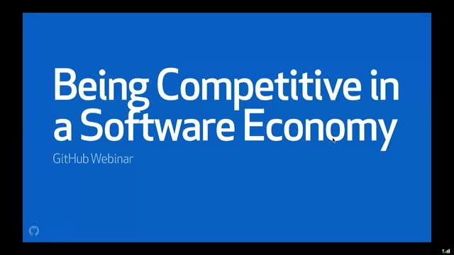 Being Competitive in a Software Economy