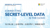 Connecting Secret-level Data in the Cloud