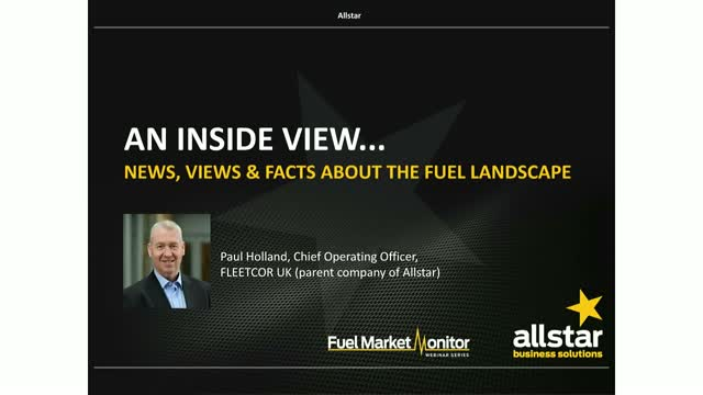 Allstar - An Inside View… news, views and facts about the fuel landscape