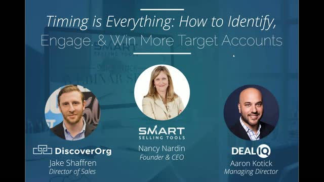 Timing is Everything: How to Identify, Engage, & Win More Target Accounts