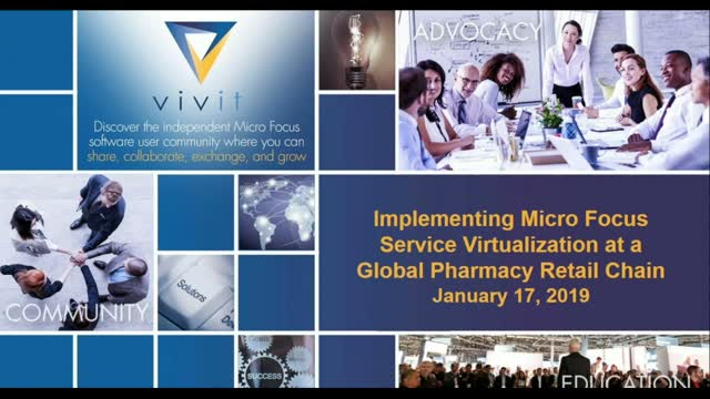 Implementing Micro Focus Service Virtualization at Global Pharmacy Retail Chain