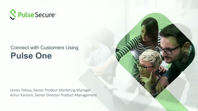 Connect with Customers Using Pulse One