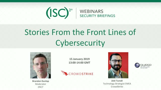 Stories From the Front Lines of Cybersecurity