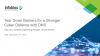 Tear down barriers for a stronger cyber defence with DNS