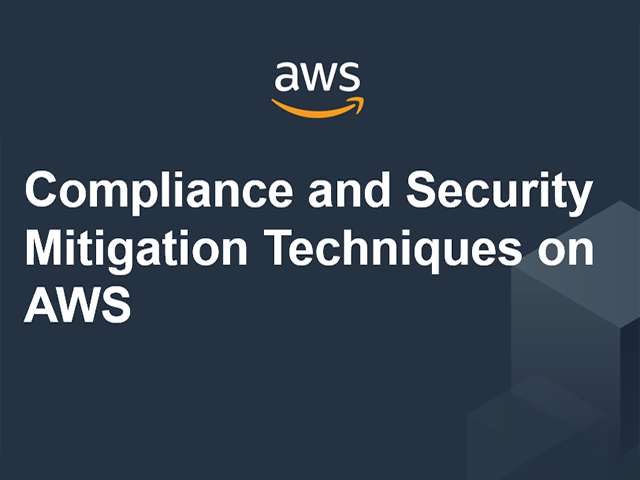 Compliance and Security Mitigation Techniques