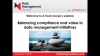 Balancing Compliance and Value in Data Management Initiatives