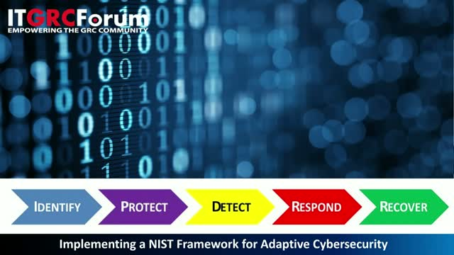 [Earn 1 CPE] Implementing a NIST Framework for Adaptive Cybersecurity