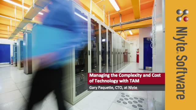 Managing the Complexity and Cost of Technology with TAM