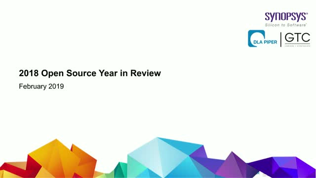 The 2018 Open Source Year in Review