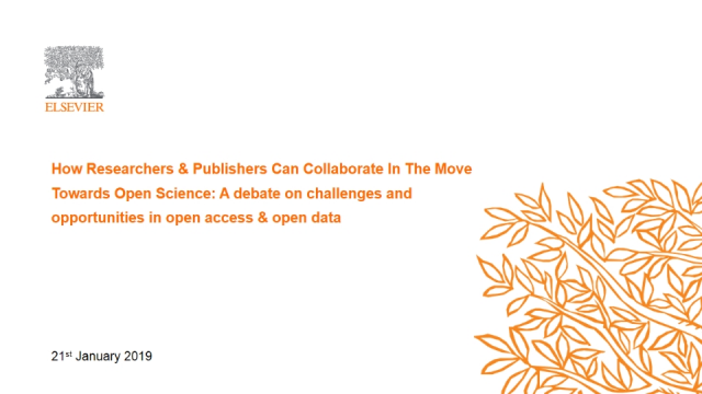 How Researchers & Publishers Can Collaborate In The Move Towards Open Science