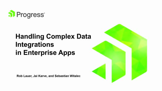 Handling Complex Data Integrations in Enterprise Apps