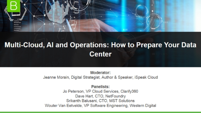 Multi-Cloud, AI and Operations: How to Prepare Your Data Center