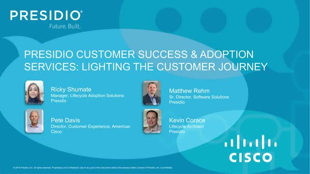 Presidio Customer Success and Adoption Services