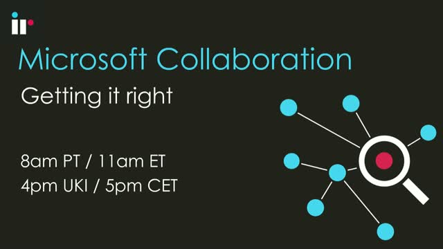 Managing Microsoft Collaboration Environment