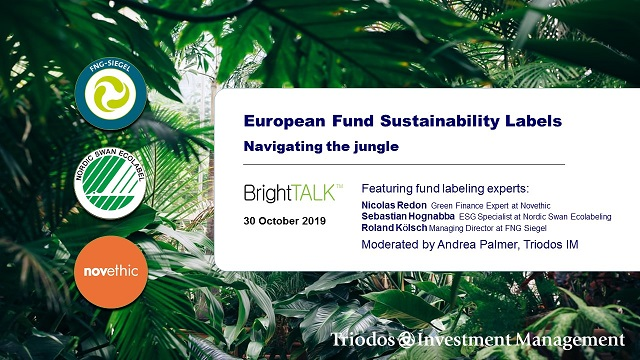 European Fund Sustainability Labels: Navigating the jungle