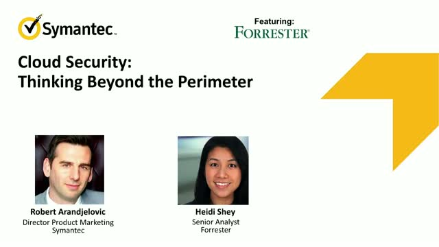 Cloud Security: Thinking Beyond the Perimeter