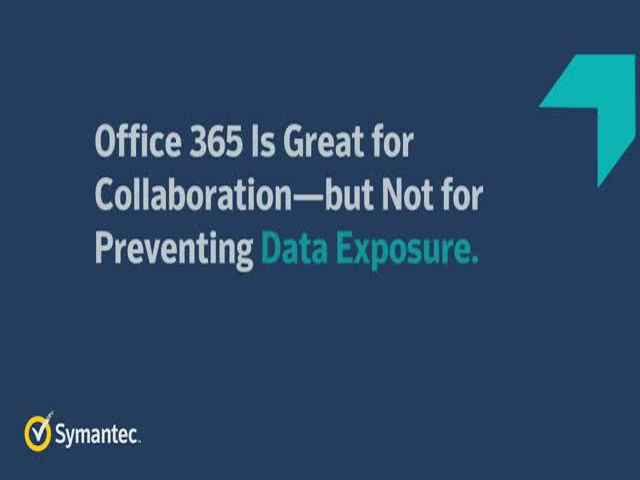 O365 Is Great for Collaboration but Not for Preventing Data Exposure. Now What?