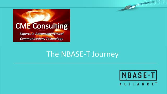 The Path to NBASE-T: Past, Present and Future